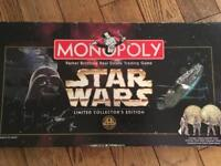 Star Wars Monopoly- opened but unused