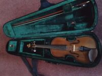 Violin 3/4 size. Stentor, very good condition.
