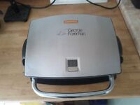 George Foreman 4 portion Grill with removable grill plates