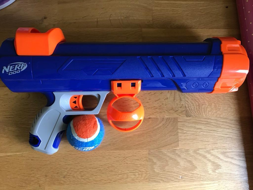 Dog toy Nerf gun ( including ball)
