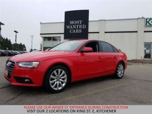 2013 Audi A4 2.0T AWD | SUNROOF | NO ACCIDENTS