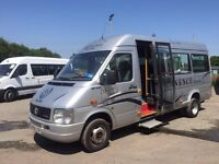 VW LT46 with Wheelchair Accessibility - COIF, PSV MOT, TACHOGRAPH Electric tail lift