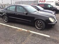 Mercedes E220 Cdi Diesel 2003 OFFERS