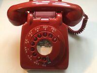 Restored 1960's GPO 706L vintage telephone.