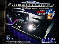 Sega Megadrive For Sale with 5 X GAMES ALL BOXED