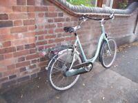 Very Large Ladies Sparta Genuine Dutch Bike.
