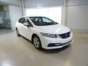 2015 Honda Civic Sedan LX CVT Camera de Recul/Bluetooth/Siege Ch