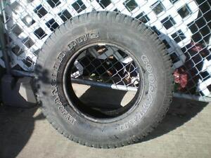 1 Goodyear Wrangler RTS Tire * P255 70R16 109S * $30.00 .  M+S / All Season Tire ( used tire )