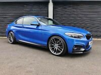 2014 BMW 220D M SPORT COUPE *M PERFORMANCE KIT* NOT 120D 320D A180 AUDI A1 A3 MINI COOPER A4 GOLF