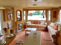 STATIC CARAVAN DOUBLE GLAZED - FREE SITE FEES FOR 17 / 18- ESSEX FACILITIES AND SWIMMING POOLS