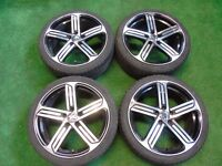 """VW GOLF MK4 CONCEPT R STYLE, POLO 17"""" ALLOY WHEELS 5x100 FITMENT"""