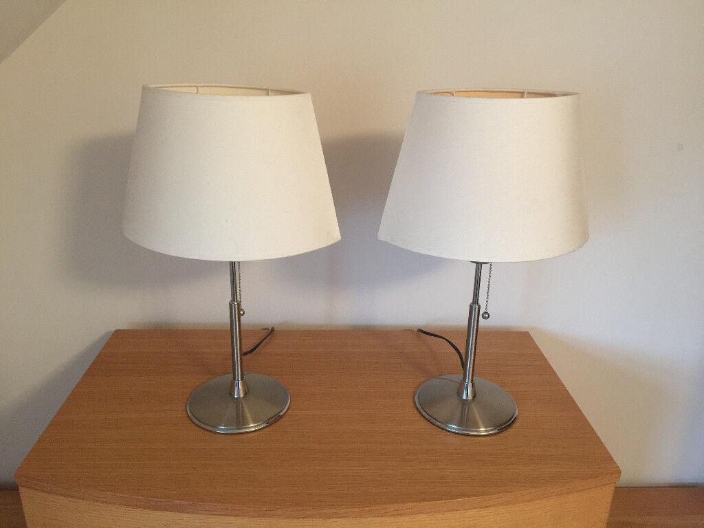 Set of Bedside Lights / Lamps