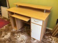 Liberty Computer Desk Beech -