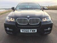 *FINANCE AVAILABLE* * BMW X-6 4.0 D= X-DRIVE* 308 BHP, FSH, SAT-NAV, LEATHER, FULL MOT