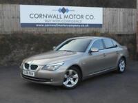 BMW 5 SERIES 2.0 520D SE 4d 175 BHP NEW MOT AND SERVICE (bronze) 2008