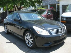 2009 Infiniti G37X  G37Xs, AWD leather heatd seats, pw, pl, sunr