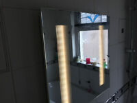 600 x 600 Bathroom LED Mirror
