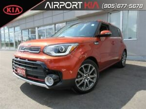2017 Kia Soul SX Turbo Tech DEMO / Leather/ Roof/ Navigation