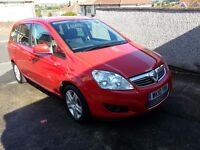 VAUXHALL ZAFIRA ENERGY CDTI E -FLEX 2010 NEW MOT(12 MONTHS) AND NEW Full SERVICE