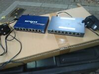 Netgear Fast Ethernet Switch FS 108 & TP-Link TLSG108