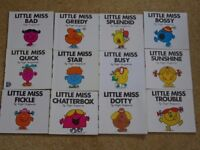Little Miss Books (and some Mr. Men books)