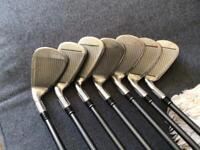 TAYLORMADE M2 5-AW GRAPHITE SHAFTED IRONS