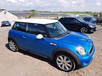 2009 MINI COOPER S 1.6 TURBO CHILLI PACK 3 DOOR HATCHBACK BLUE 12 MONTHS M.O.T