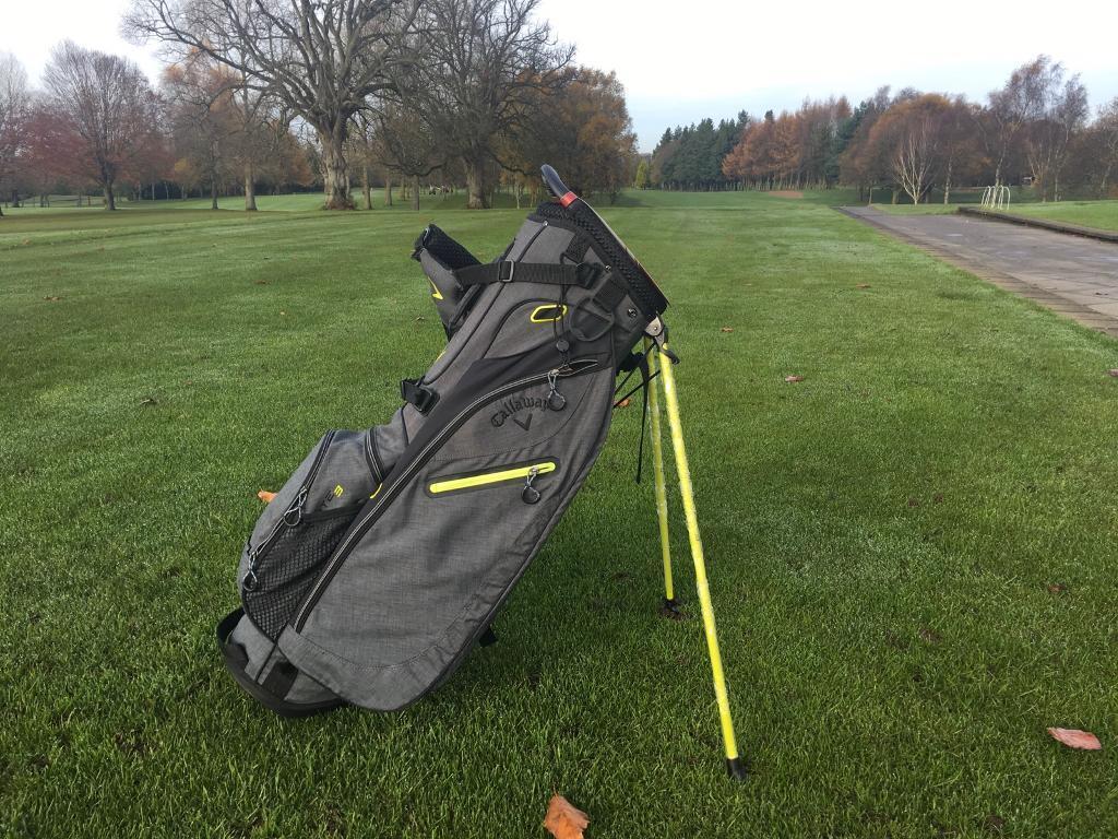 Callaway Golf Hyperlite 3 Double Stand Bag. Now just £79.99!!