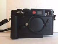 Leica M6 TTL Black Body + Grip
