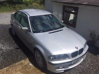 BMW 318i E46 1999 SPARE OR REPAIRS, DRIVES PERFECTLY, LOADS OF HISTORY, BARGAIN