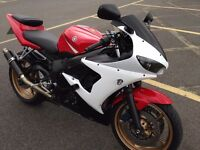 Yamaha r6 04 very clean and looked after bike