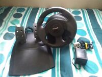 Microsoft Force Feedback Steering Wheel & Pedals May Trade L@@K !!