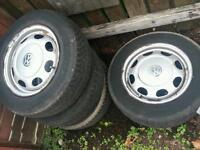 Vw polo or corsa wheels