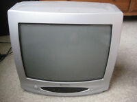 """Goodmans TV for free, 14"""" / 35cm. Analogue system - Aerial and scart video inputs. GTV34T6SIL."""