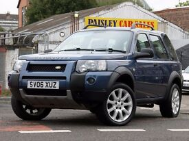 2006 REG FREELANDER FREESTYLE 2.0cc TD4 5 DOOR.