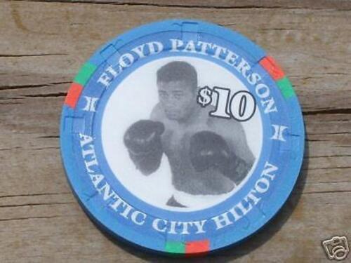 $10 HALL OF FAME HEAVYWEIGHT CHIP ATLANTIC CITY HILTON