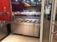 Hot food storage (buffet warmer)