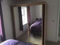 Sliding Wardrobe and 2 Bedside Tables