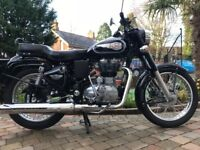 2016 ROYAL ENFIELD 500 BULLET CLASSIC MINT CONDITION LOW MILES -FINANCE ETC £3299