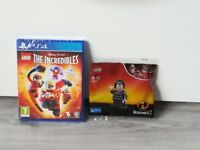Lego The incredibles ps4 and mini figure
