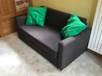 Sofa Bed with Pillows