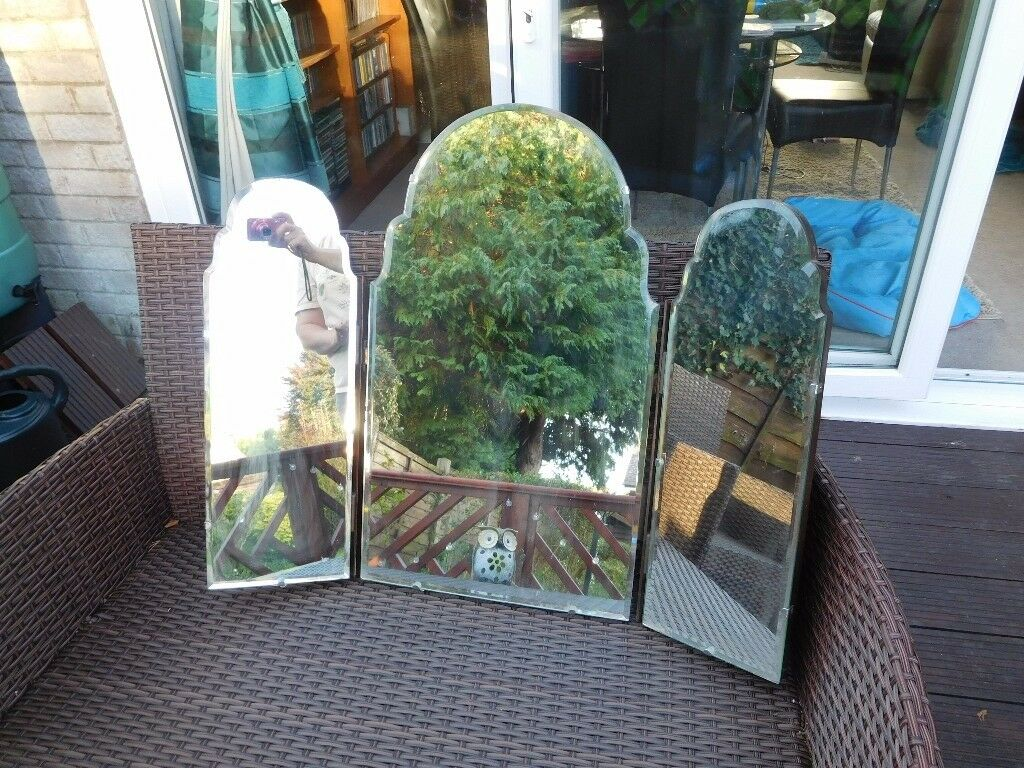Vintage dressing table mirrors