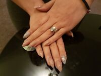 Gel/Acrylic Nails and Permanent Eyelashes