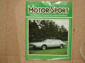 544 Car Magazines, 1960 to 1985, Motor Sport, Road & Track etc