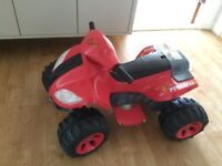 Child / toddler Electric Quad bike AS NEW COST £150!