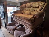 3 piece suite clean and CHEAP !! , Ashton under lyne area OL7 9JZ £69.00