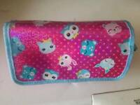 Smiggle girls pencil case