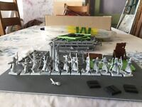 Warhammer 12 plastic high elf archers unpainted + bits