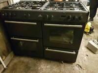 New range cooker dual fuel