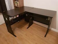 Office desk dark brown